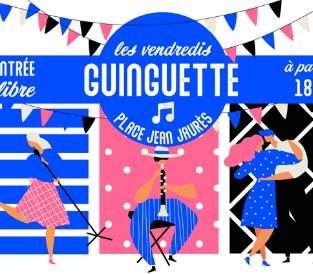 Les Vendredis Sonores se transforment en Guinguettes !