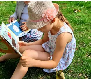Lectures sur l'herbe