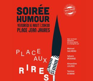Soirée Humour : Place aux Rires