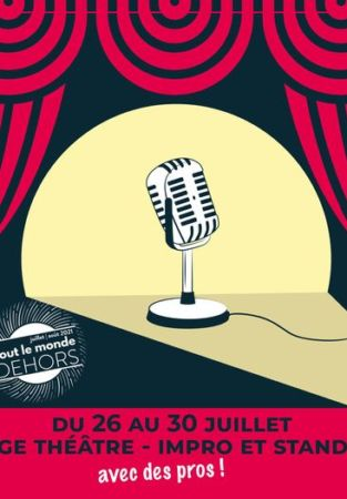 Stages Théâtre : Impro et Stand up